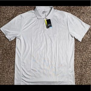 Nike Golf Tour Performance Standard Fit Gray Polo